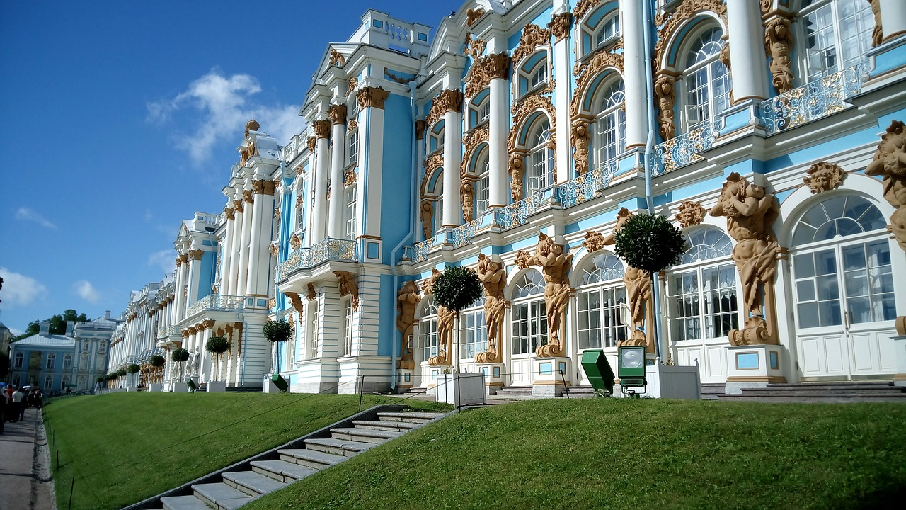 2022年 4/23 俄羅斯莫斯科聖彼得堡9日 4/30 凱薩琳宮Catherine Palace—普丁總統生日餐廳—冬宮Hermitage