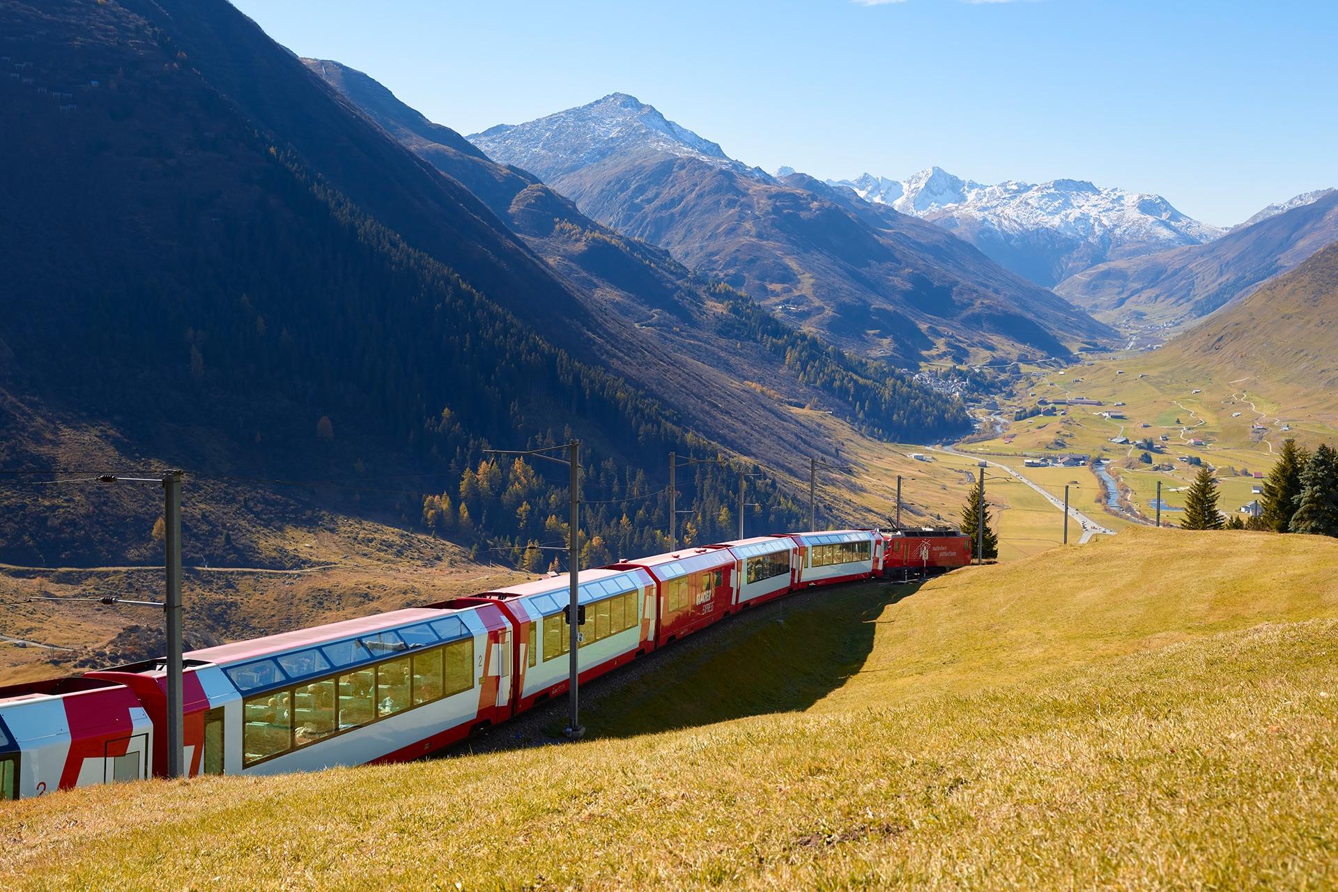2022年 5/11 瑞士火車精彩深度9日 露盧森Luzern-安德瑪特Andermatt-冰河列車Glacier Express-策馬特Zermatt