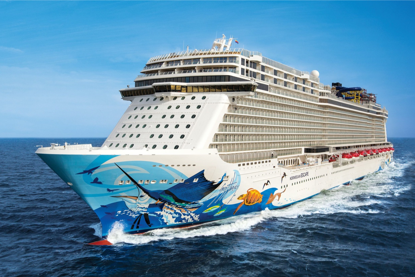 2022年 5/27 北歐豪華遊輪之旅12日 6/6 歡樂海上遊 At Sea