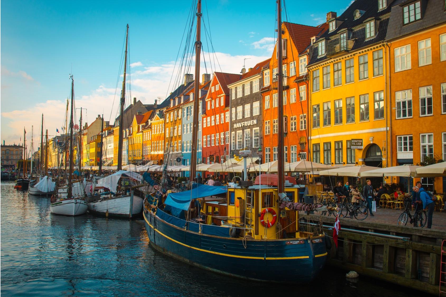 2022年 5/27 北歐豪華遊輪之旅12日 5/28 抵達丹麥哥本哈根 Copenhagen,Denmark