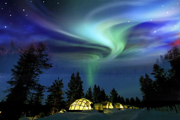 北極圈極光
