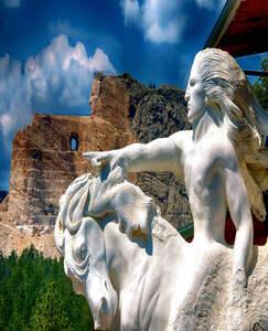 總統巨石-羚羊彩穴-大峽谷